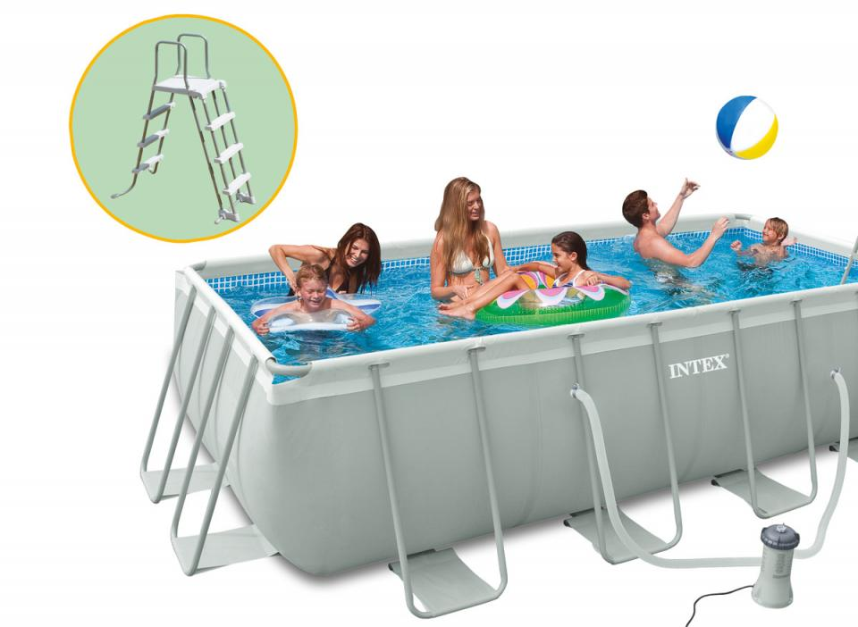 Cat gorie piscine du guide et comparateur d 39 achat for Piscine hors sol ultra silver 4 57 x 2 74
