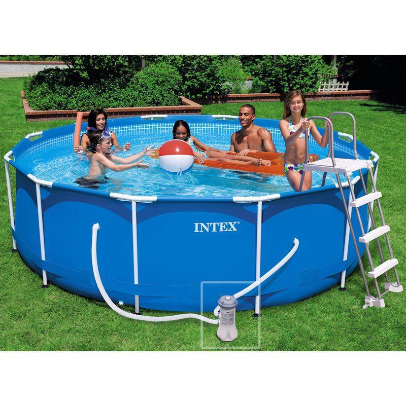 Cat gorie piscine du guide et comparateur d 39 achat for Piscine intex tubulaire 3 66 x 0 99