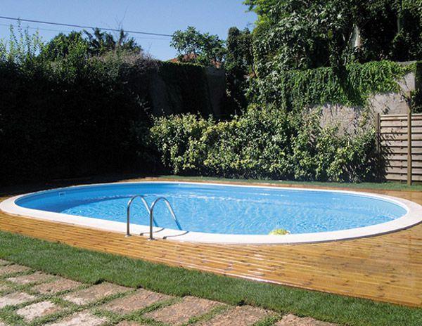 Cat gorie piscine du guide et comparateur d 39 achat - Piscine demi enterree ...