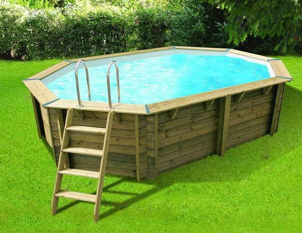 Ubbink cpiscine bois azura x m cat gorie for Liner piscine diametre 5 50
