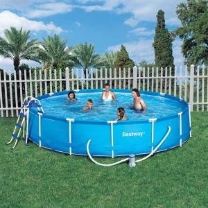 Cpiscine tubulaire ronde 457x91 for Accessoire piscine 74