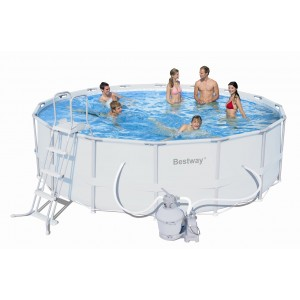 Bestway piscine 3m05 x 76 cm cat gorie piscine gonflable for Piscine tubulaire ronde bestway 3 66 x 1 22m