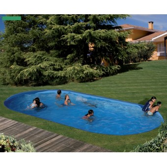 Gre ckit piscine enterr e 9 15x4 70x1 50 m tres pool for Piscine 50 metres
