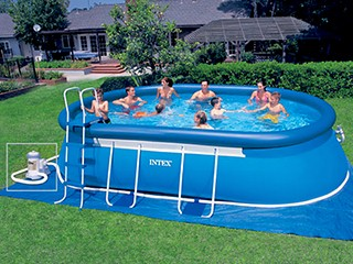 Intex piscine tubulaire 3 66 x 0 84 m cat gorie piscine for Piscine intex ellipse ovale 5 49x3 05x1 07