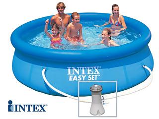 intex piscine hors sol metal frame junior. Black Bedroom Furniture Sets. Home Design Ideas