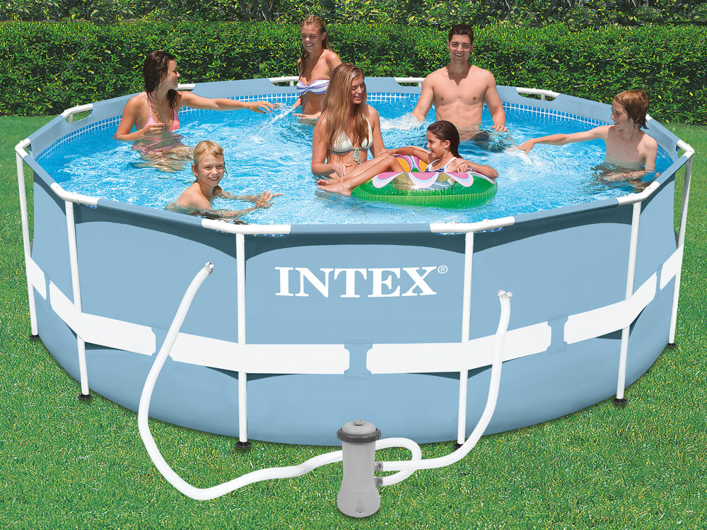 Intex piscine prism frame 366 x h122m for Intex piscine