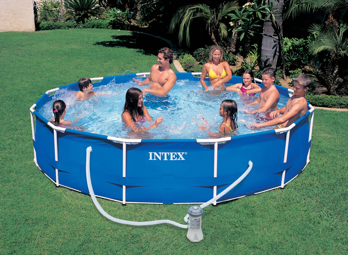 Intex piscine tubulaire 366 x 084 m for Piscine intex tubulaire