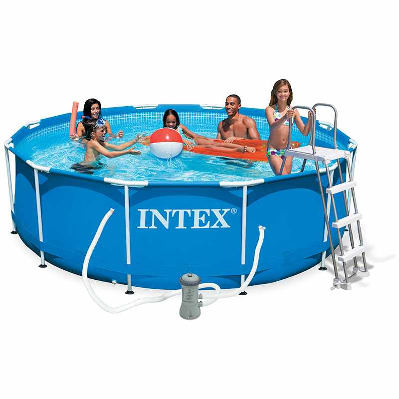 Intex piscine tubulaire 366 x 099 m for Piscine intex 3 66 x 0 99
