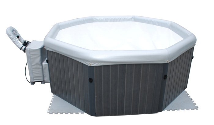 Poolstar spa portable tuscany 6 places for Piscine transportable