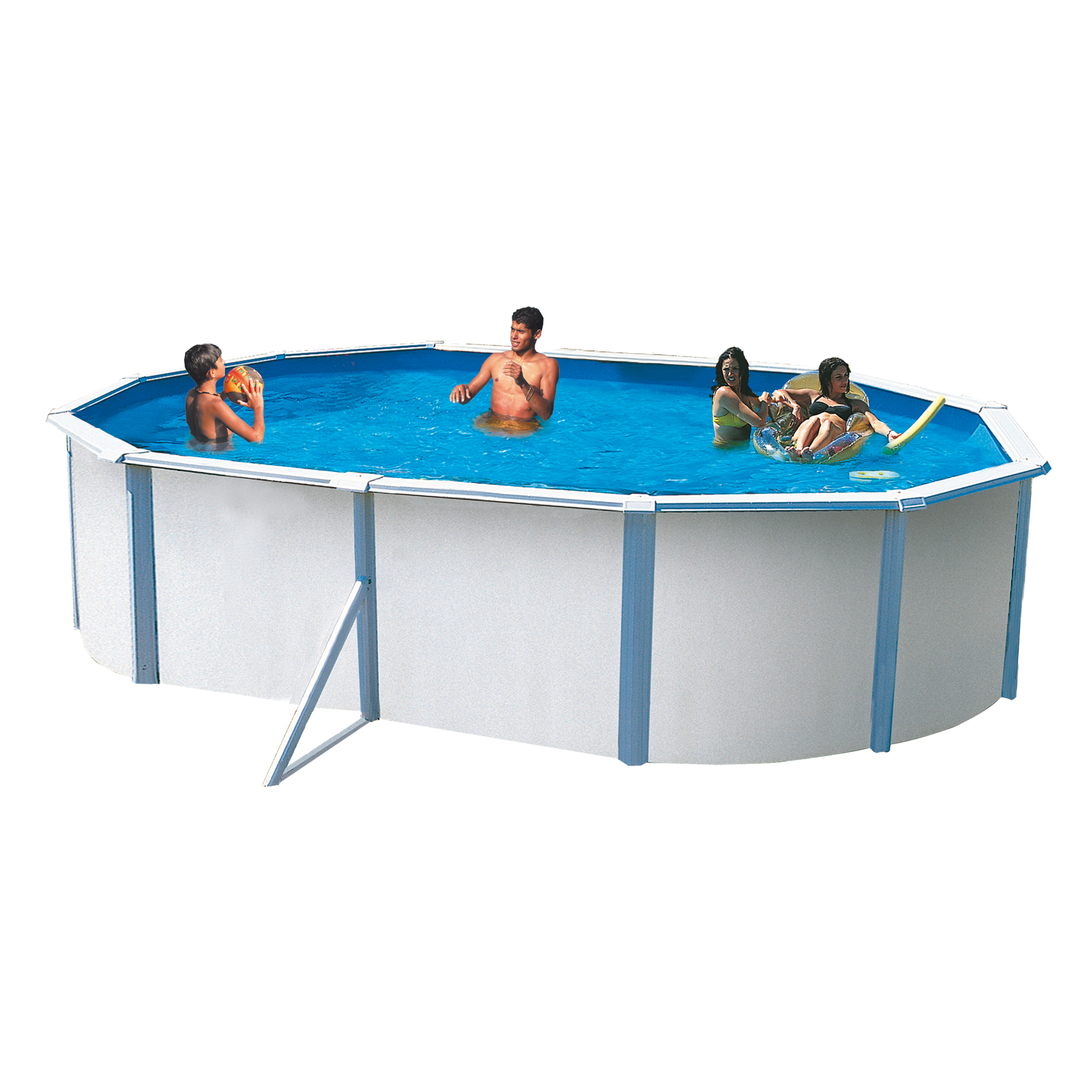 Piscine hors sol trigano for Piscine hors sol metal