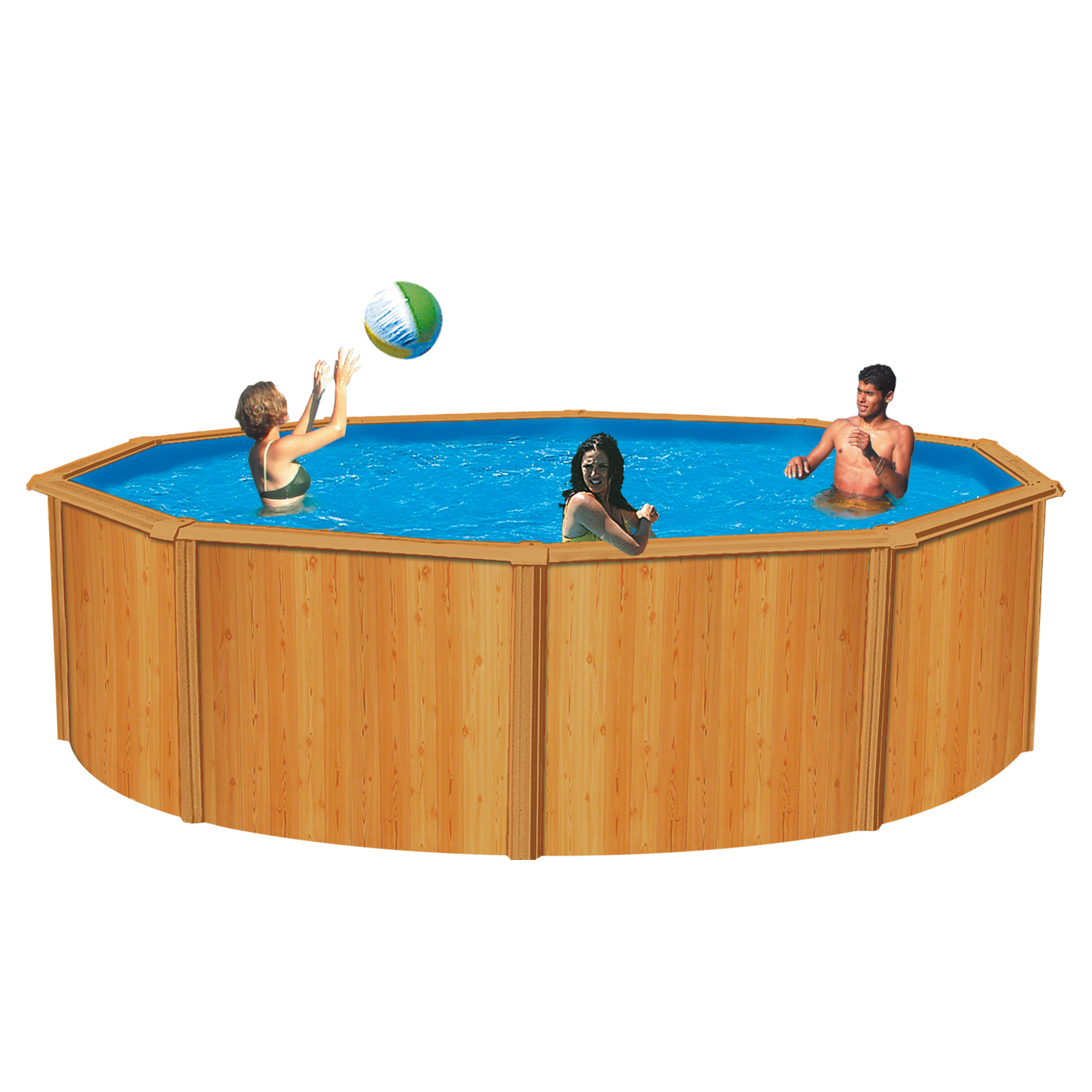 Trigano piscine canyon aspect bois for Liner piscine 3 50 x 1 20