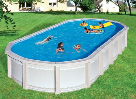 Trigano piscine m tal et r sine liberty 770x380 m stor for Piscine resine enterree