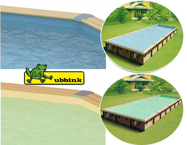 ubbink cliner bleu pour piscine ovale 155 x 350 x 1. Black Bedroom Furniture Sets. Home Design Ideas