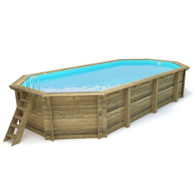 viva c pool piscine bois sevilla x x. Black Bedroom Furniture Sets. Home Design Ideas