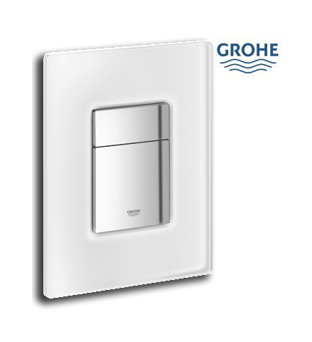 grohe plaque de commande wc 38845ls0 white moon. Black Bedroom Furniture Sets. Home Design Ideas