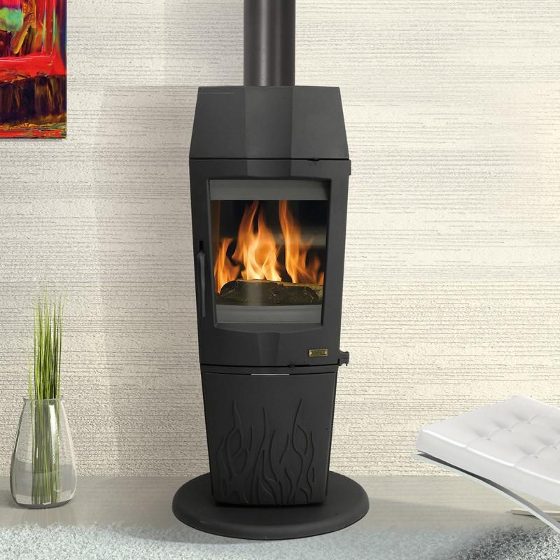 godin poele bois strato anthracite 11 kw. Black Bedroom Furniture Sets. Home Design Ideas