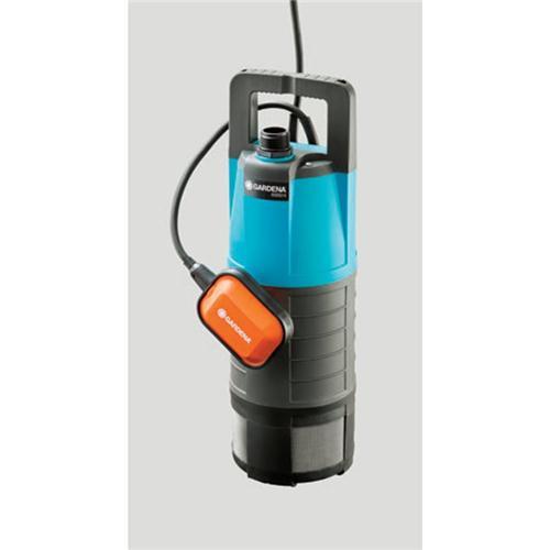 Gardena cpompe immergee pour arrosage 1000 w 6000 4 class for Pompe a eau exterieur