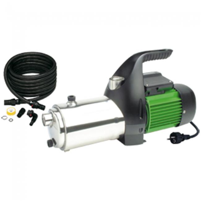 Pompes pompe de surface multicellulaire auto amorante for Pompe a eau de jardin