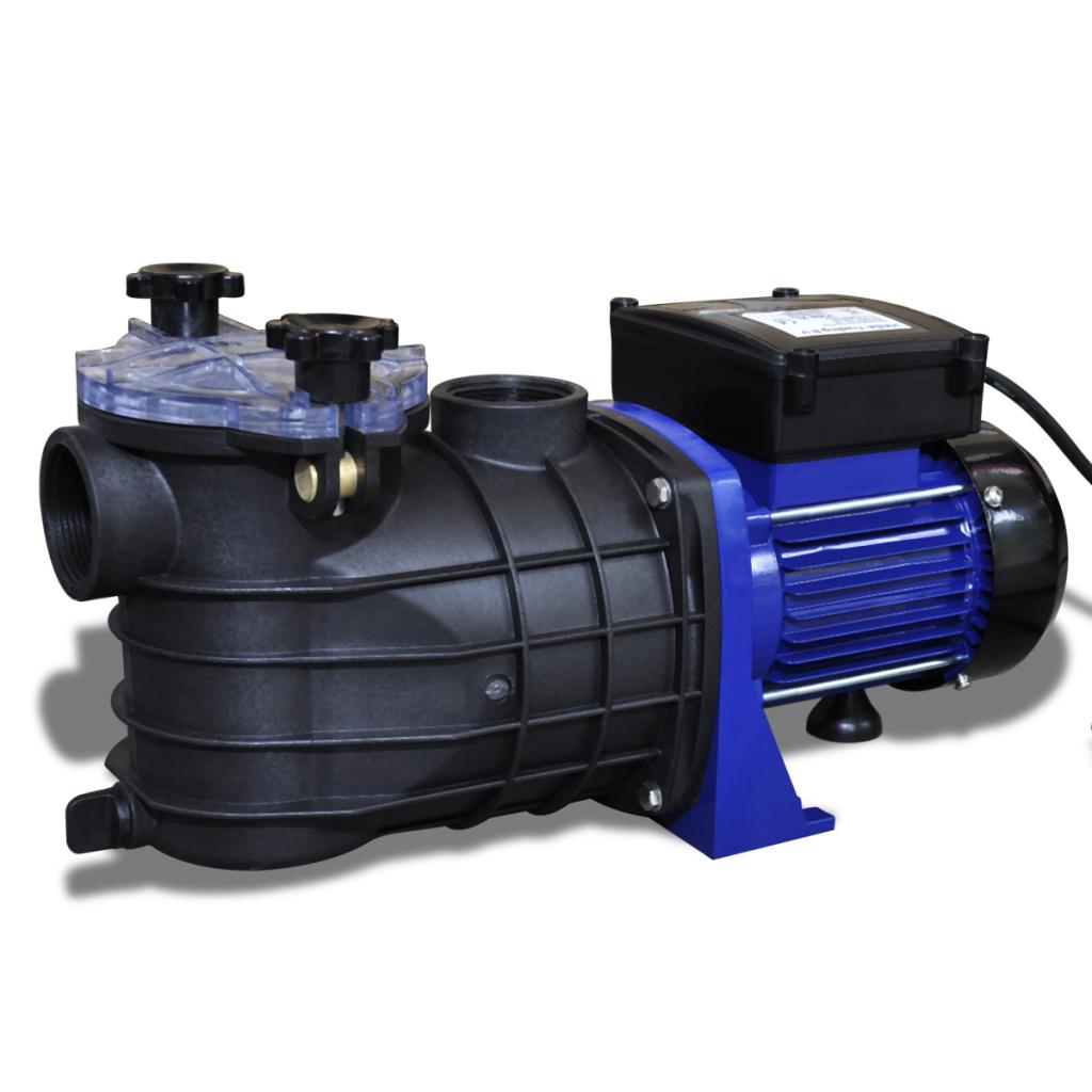 Vidaxl c pompe de filtration eau pour piscine 600 w for Pompe a eau exterieur