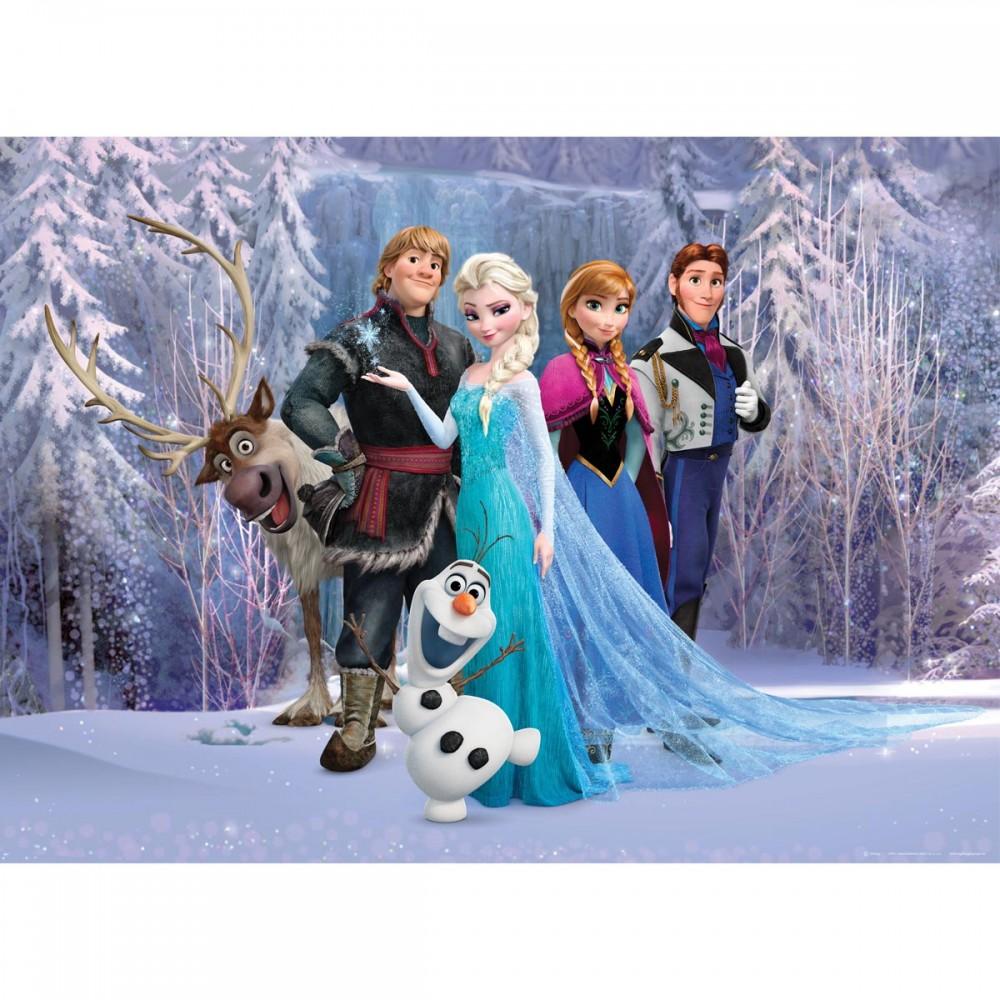 Disney poster xxl la reine des neiges frozen l160 x h115 for Maison reine des neiges