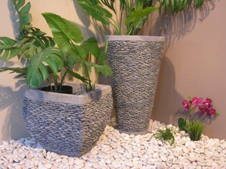 Catgorie pot de fleur page 2 du guide et comparateur d 39 achat for Nettoyer galet blanc jardin