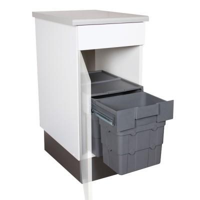Cat gorie poubelle page 2 du guide et comparateur d 39 achat - Meuble cache poubelle cuisine ...