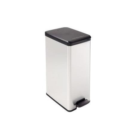 curver poubelle p dale decobin slimbin 40 l. Black Bedroom Furniture Sets. Home Design Ideas