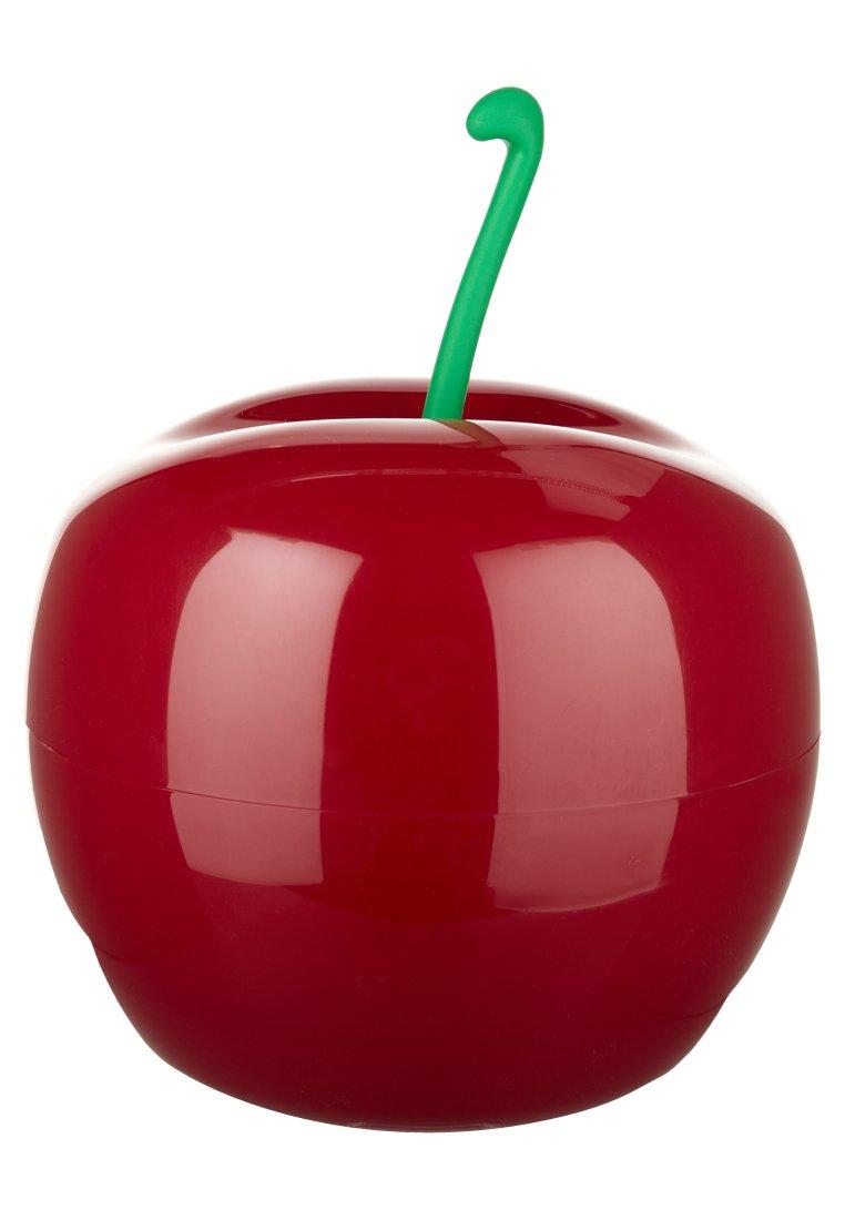 Qualy c cherry poubelle salle de bain rouge for Produit salle de bain maison