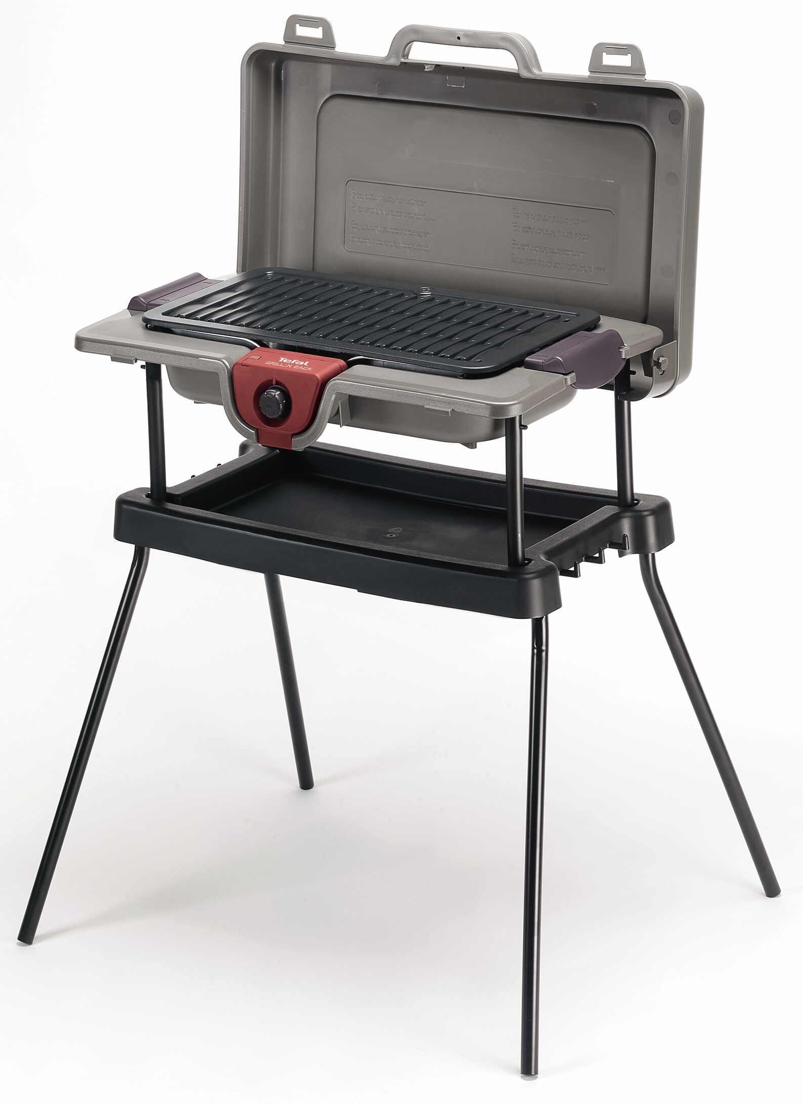 Tefal c cb 703812 - Barbecue electrique sur pied avec couvercle ...