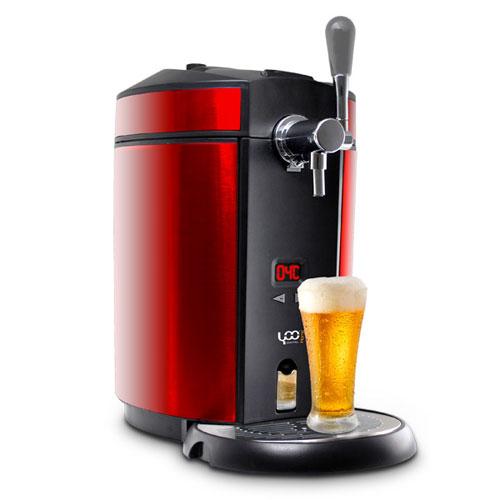 yoo tireuse digital beerdraft100 red. Black Bedroom Furniture Sets. Home Design Ideas