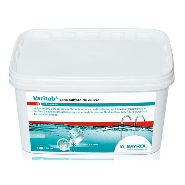 Bayrol varitab 54 kg for Produit pour piscine