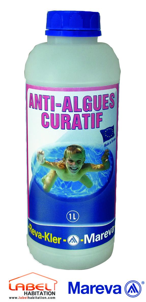Mareva algicide reva kler for Algicide piscine