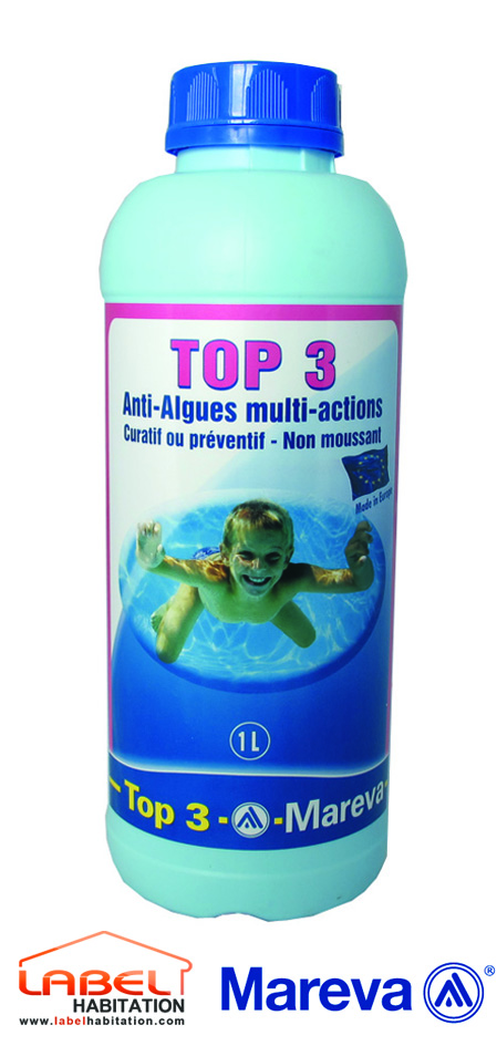Mareva algicide top 3 for Produit piscine mareva