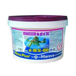 Mareva ph plus reva plus 2 x 5 kg for Tac produit piscine