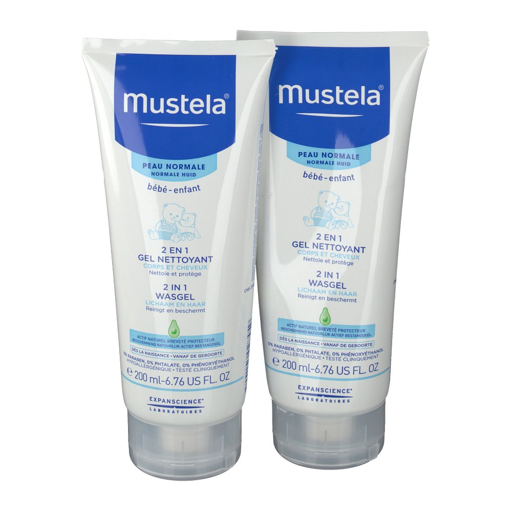 mustela c b b 2 en 1 gel nettoyant. Black Bedroom Furniture Sets. Home Design Ideas