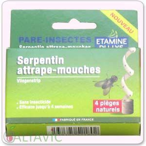 Etamine serpentins attrape mouches du lys cat gorie for Attrape mouches maison