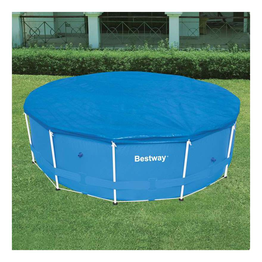 Bestway couverture piscine steel pro 4 57 x 0 91m cat gorie for Bache piscine bestway
