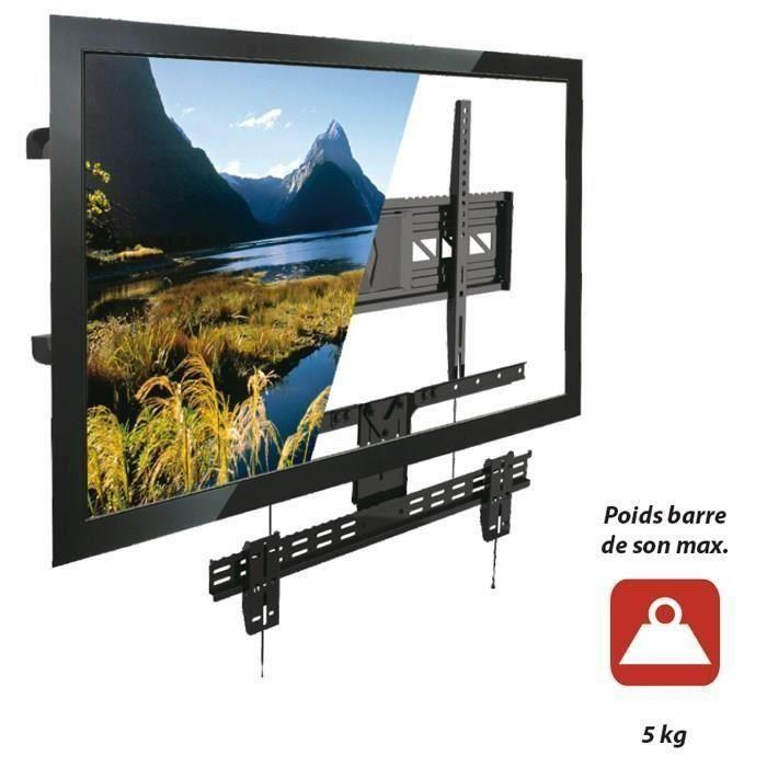 inotek sbs100 support barre de son pour support tv. Black Bedroom Furniture Sets. Home Design Ideas
