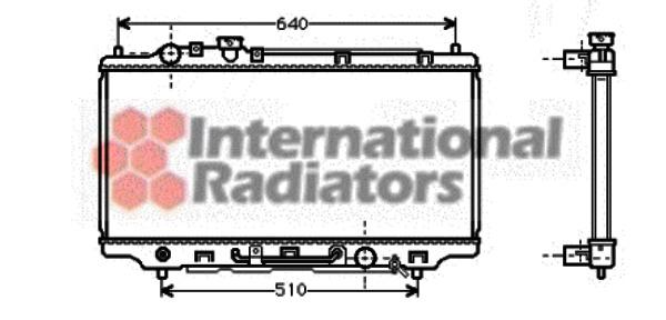 van radiateur du moteur wezel 27002100
