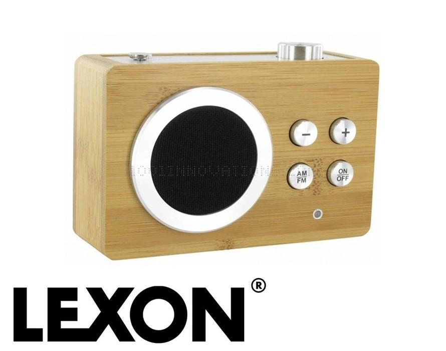 lexon radio piles bambou mini dolmen. Black Bedroom Furniture Sets. Home Design Ideas