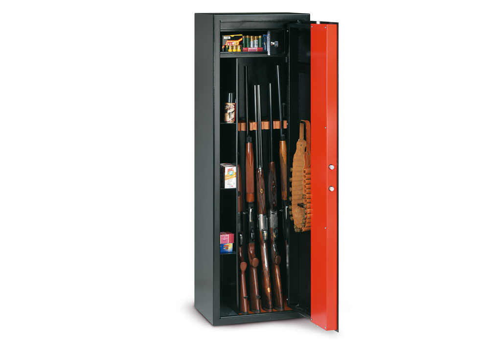 technomax armoire fusil cl pour 5 fusils tch 5. Black Bedroom Furniture Sets. Home Design Ideas