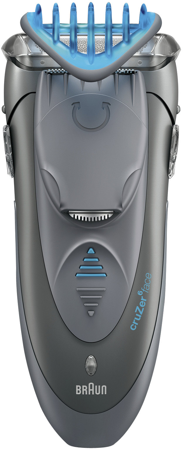Braun cruzer 6 face - Rasoir electrique grille ou tete rotative ...