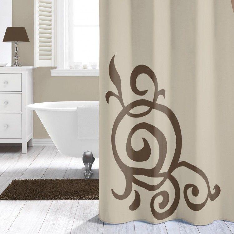 rideau de douche sealskin duchess ecru. Black Bedroom Furniture Sets. Home Design Ideas