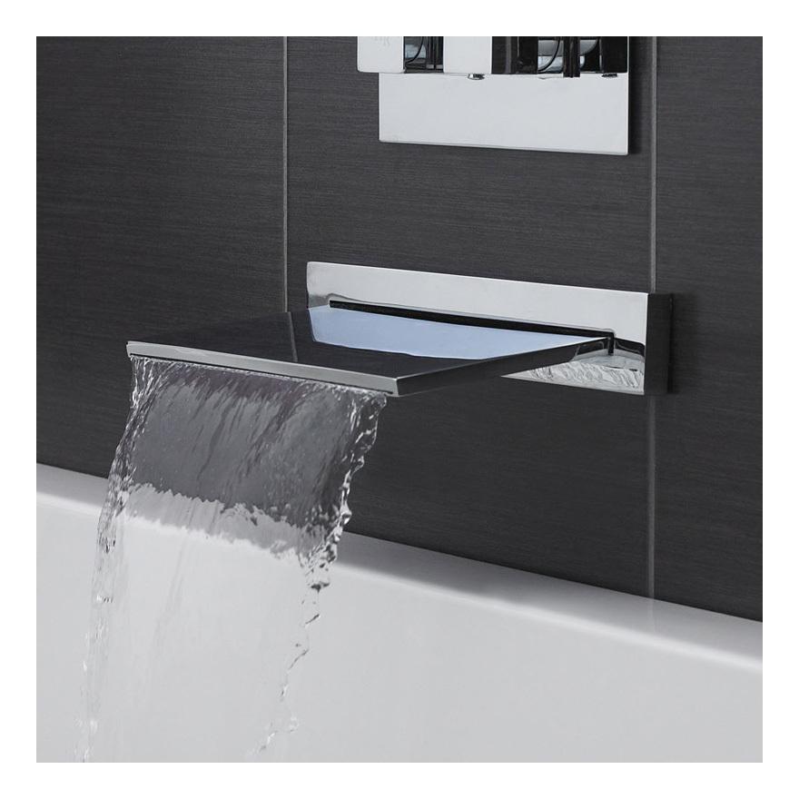 hudson bec cascade bain mural 25cm reed cat gorie robinet. Black Bedroom Furniture Sets. Home Design Ideas