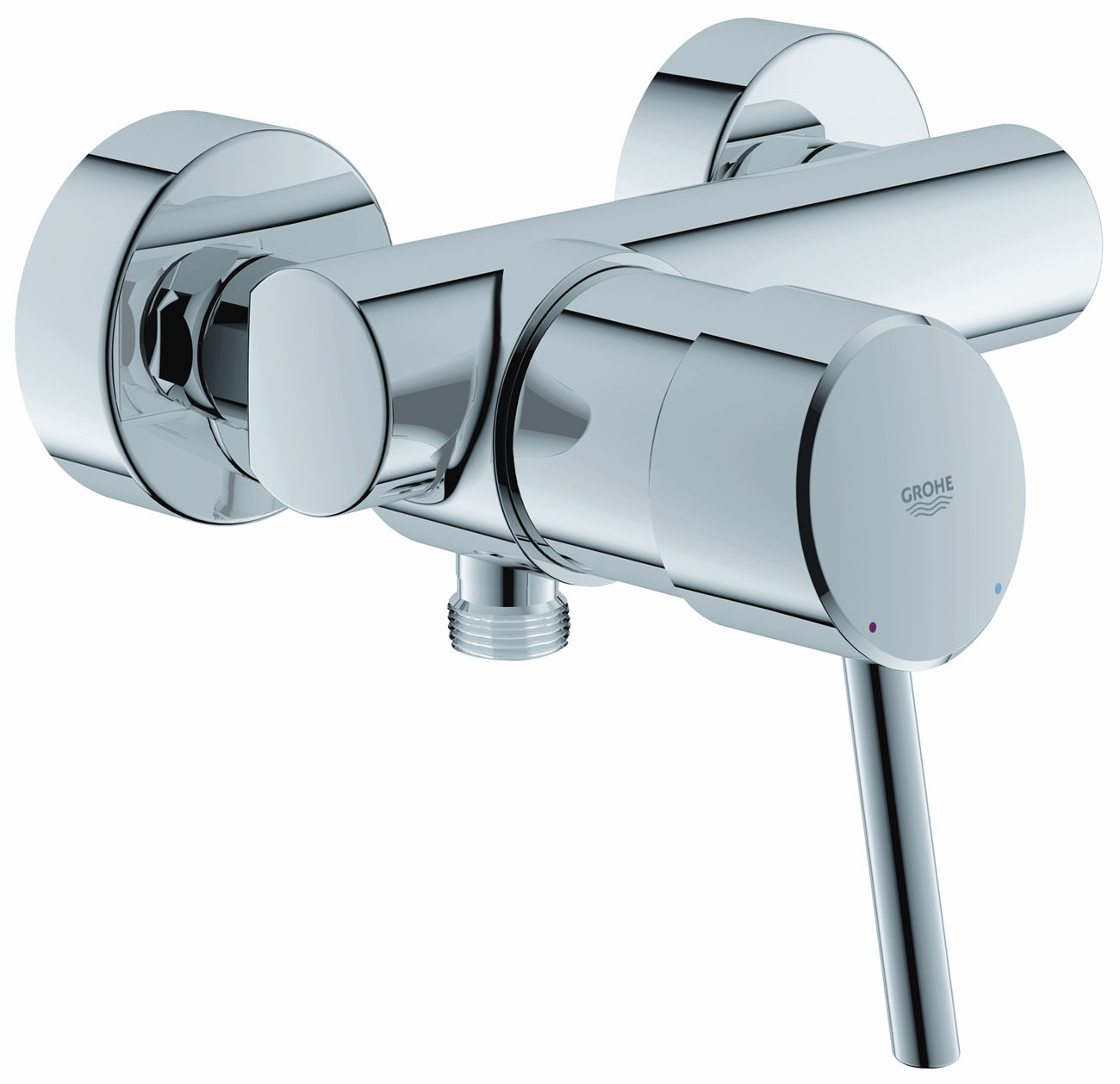 Grohe mitigeur concetto pour douche montage mural 32699001.jpg