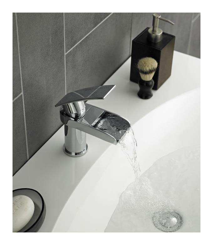 hudson cmitigeur monotrou pour lavabo ou vasque reed. Black Bedroom Furniture Sets. Home Design Ideas