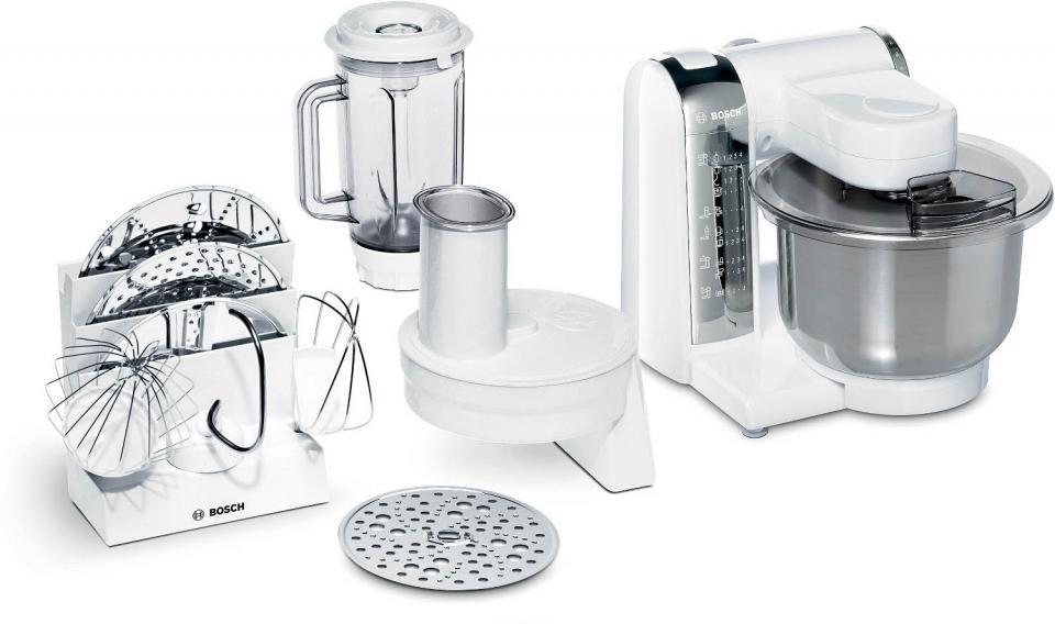 robot menager bosch kitchen machine 600 w 4 vitesses bol inox 3 9 l 2 fouets et 1. Black Bedroom Furniture Sets. Home Design Ideas