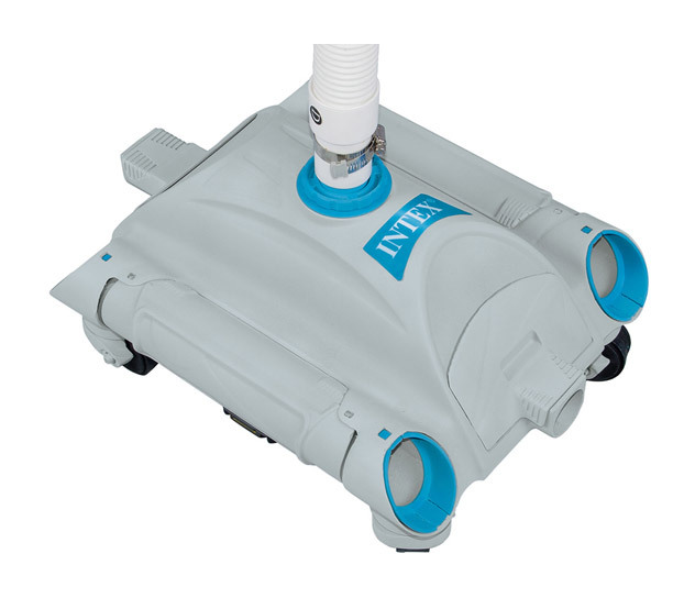 Intex robot piscine hydraulique hydroflow aspiration for Robot piscine intex