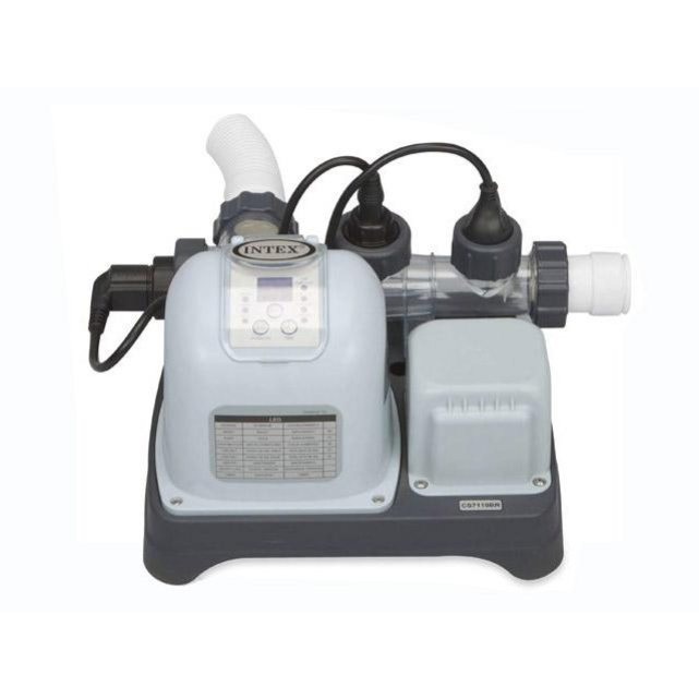 St rilisateur sel krystal clear ionisateur cuivre for Kit aspirateur intex