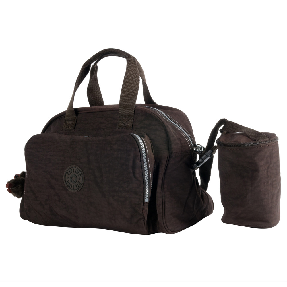 kipling c sac bebe camama expresso brown. Black Bedroom Furniture Sets. Home Design Ideas